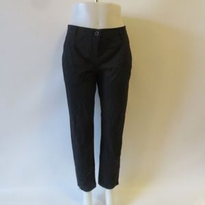 NWT WOMENS THEORY BLACK BOOTCUT PANTS SIZE 10*
